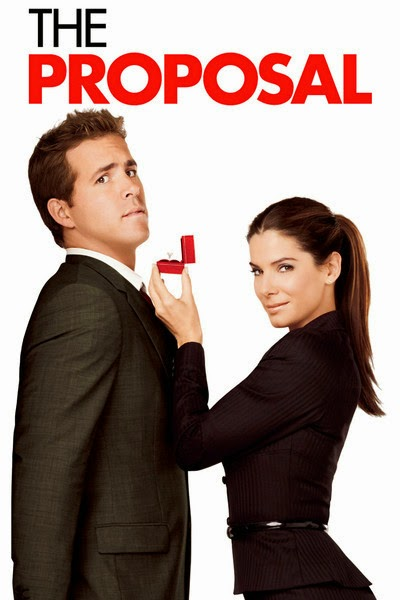 The cover for the movie The Proposal