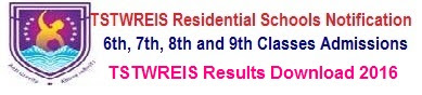TSTWREIS Results Download for Telangana Tribal Schools Backlog Vacancies Selection/ Merit list