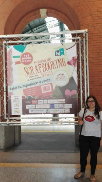 Feria Scrapbooking Sevilla Scrapeando con Rocio