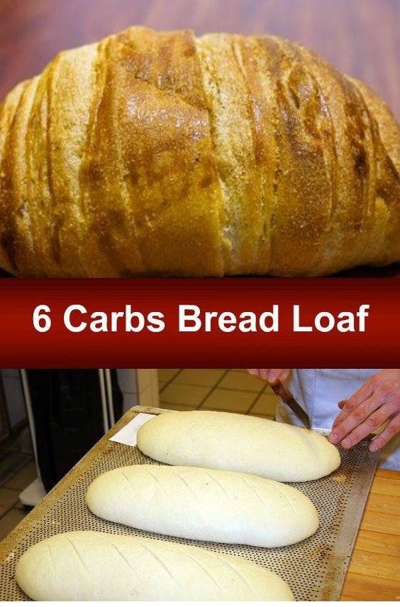 6 Carbs Bread Loaf Recipe