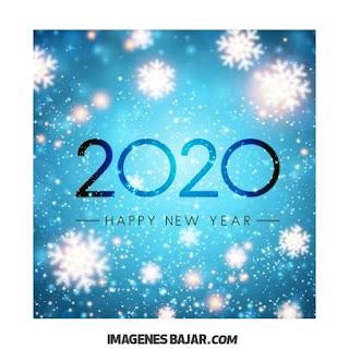 2020 Happy new year postal Imágenes de Felices Fiestas. Tarjetas para enviar por WhatsApp