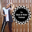 Black & White: A Sewing Challege + minidress tutorial