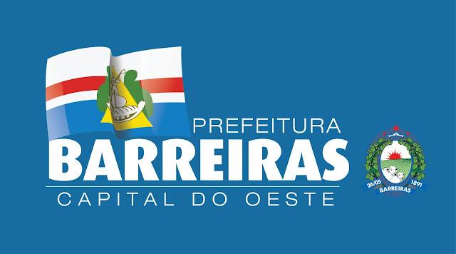 Prefeitura de Barreiras entrará em recesso de fim de ano a partir da próxima segunda-feira