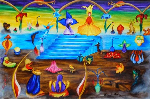 Аргентинский художник. Roberto Antonio Buchi