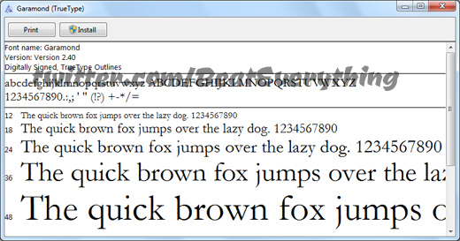 Download and install Google Fonts in Windows