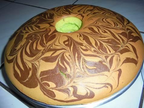 Cara Membuat Cake Marmer Spesial nan Lembut dan Nikmat