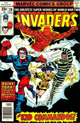 Invaders #28, the Kid Commandos
