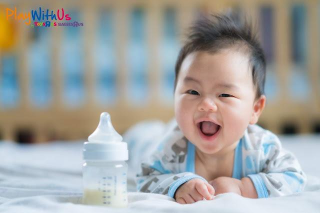 préparer biberon bébé