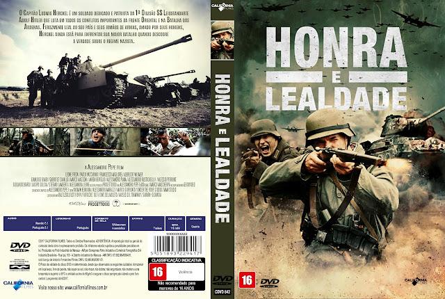 Capa DVD Honra e Lealdade [Exclusiva]