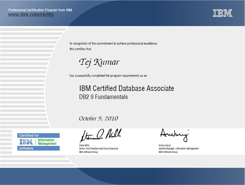 ibm certification professional test results attempted prometric testing recently prime thank systems below using