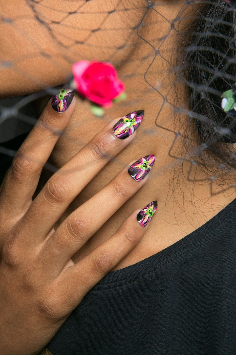 Trend Nail Art: The Bloomin' Couch: 2014 Nail Trends