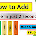 How To Add Table in Just 2 Seconds In hindi || NEW Maths Tricks 2018