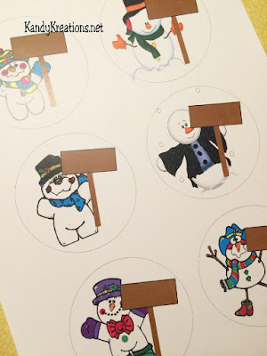 Snowmen Printables