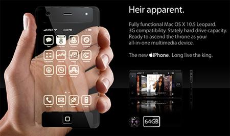 Telefono inteligente trasparente