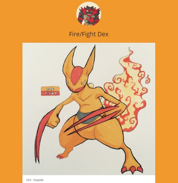 15 Pokemon Tumblrs You Should Be Following If You Love Pokemon! fire fight dex sceptile