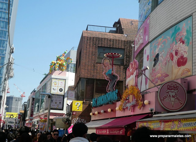Takeshita imprescindible Tokio