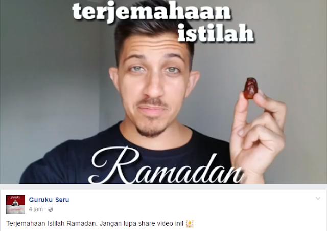Istilah Ramadhan Dalam Bahasa Inggris