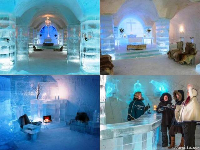 10 Cool Ice Hotels Most Beautiful Places In The World