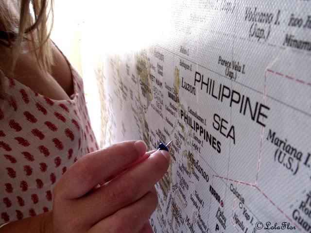 María Savage se va a Filipinas