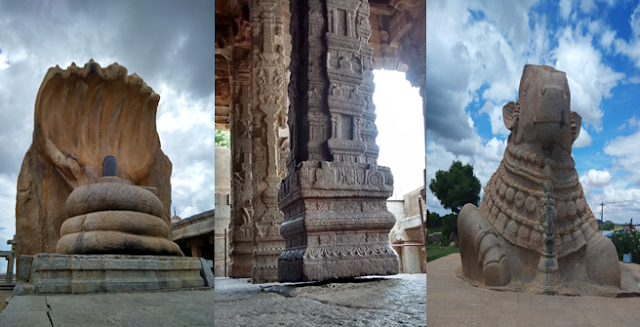 Lepakshi temple and the famous hanging pillar