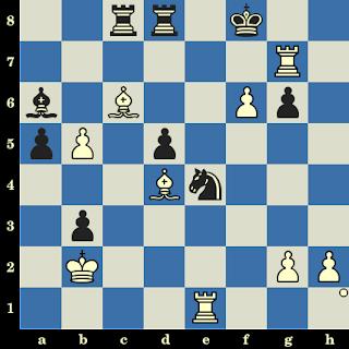 Les Blancs jouent et matent en 6 coups. Marie Sebag vs Nathalie Franc, Marseille, 2001