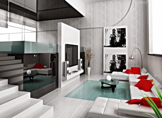 Gambar Desain Ruang Tamu Mewah