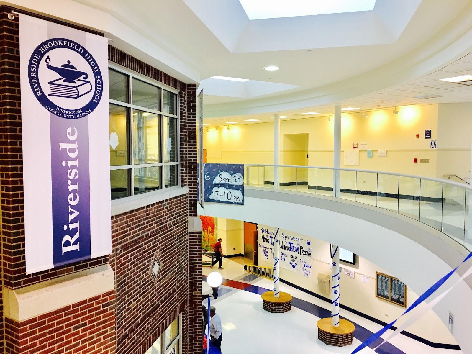 Touring Riverside-Brookfield High School