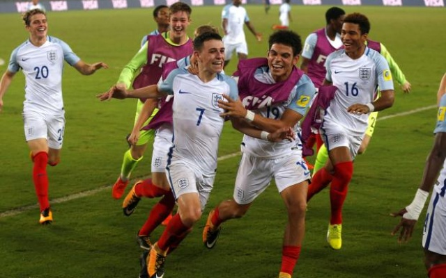 England fight back to win U17 FIFA World Cup 2017
