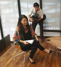 CHANNEL NEWS ASIA: BEHIND THE CAMERAS