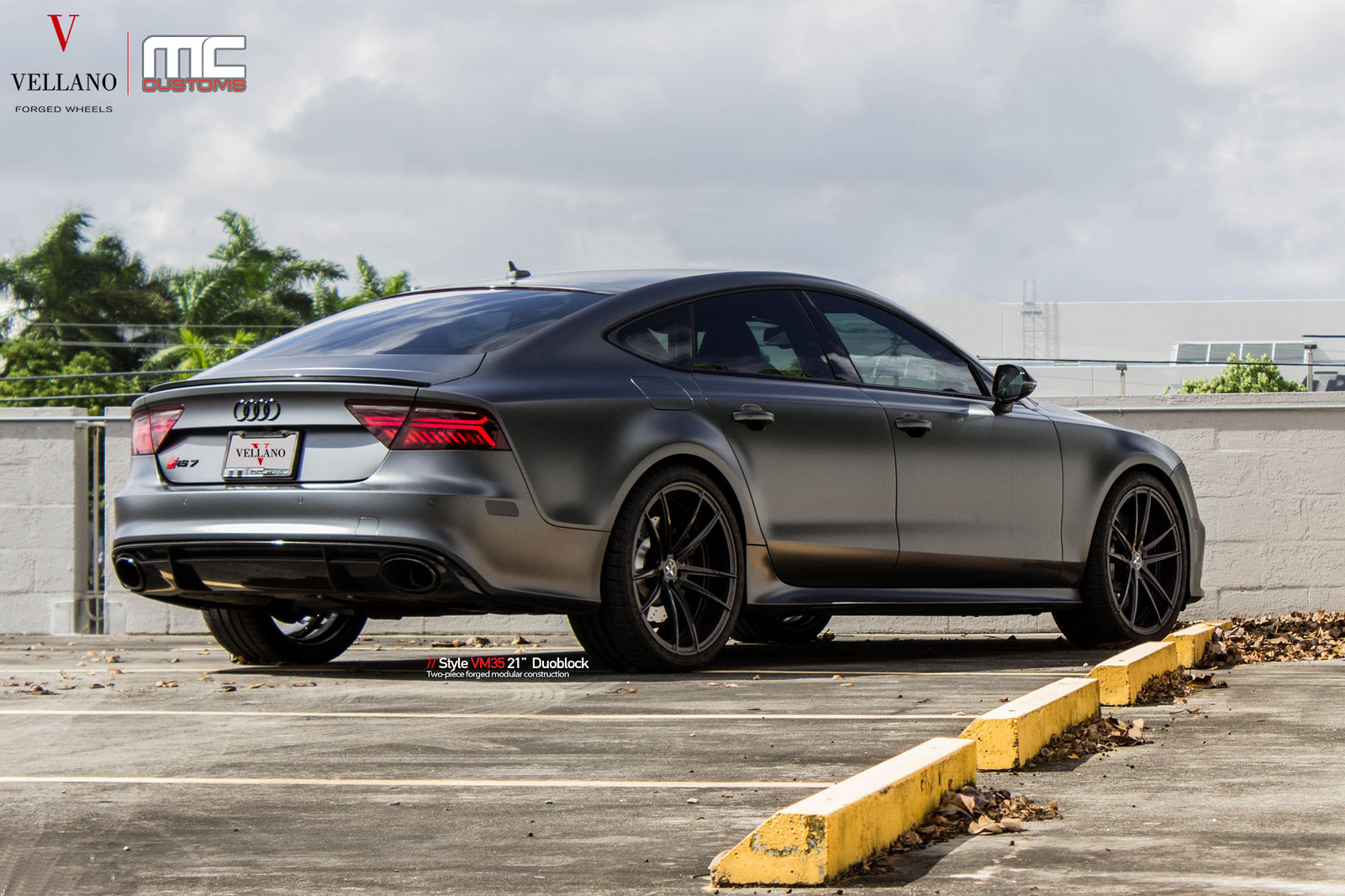 Dh Auto Sales >> Satin Grey Audi RS7 On Vellano Wheels Is A Supercar-Slayer | Carscoops