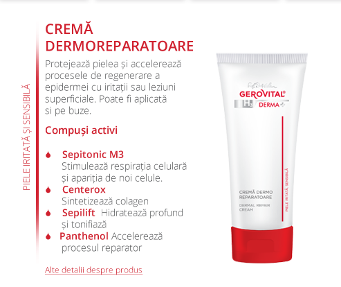 H3 Derma Plus - crema dermatoreparatoare
