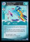 My Little Pony Rainbow Dash, Winged Wonder Premiere CCG Card