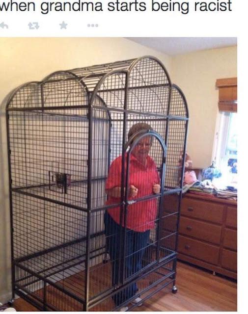 Funny Racist Grandma Christian Meme Picture