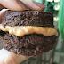 Receita de mini brownie recheado fit e saudável