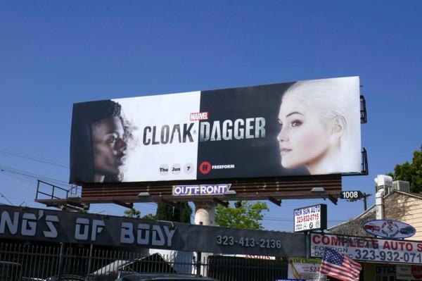 Cloak Dagger season 1 billboard
