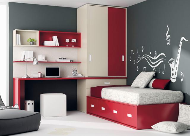 Dormitorios juveniles habitaciones infantiles y mueble - Colores dormitorio juvenil ...