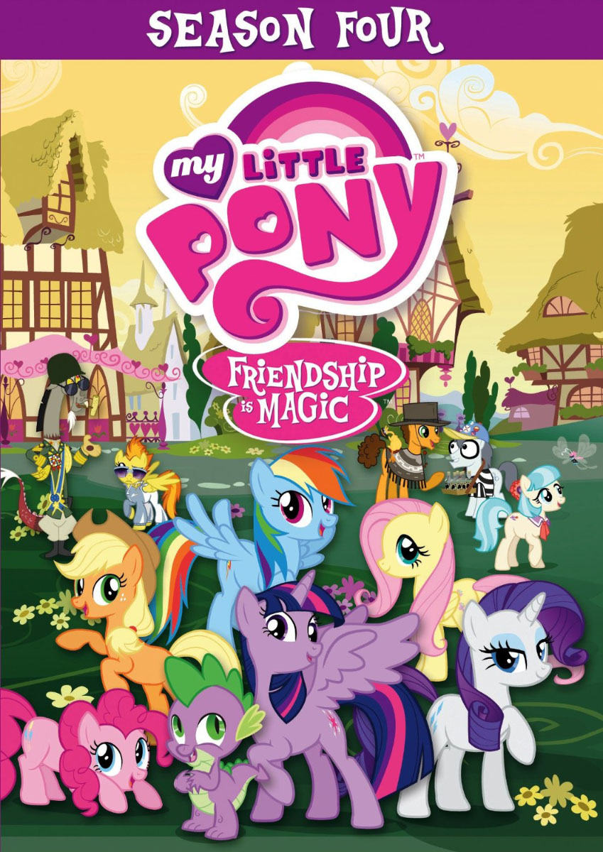 MLP FiM Season 4 DVD Available On December 2 MLP Merch