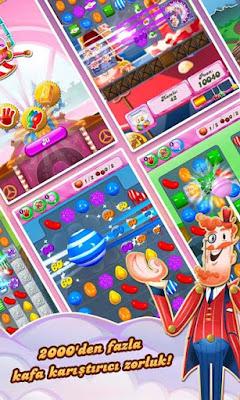 candy crush saga hile apk
