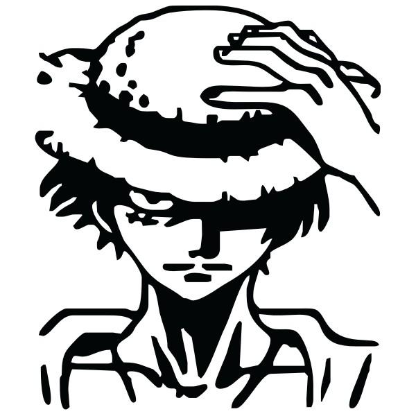 43 Gambar Luffy Hitam Putih Keren Koleksi Terpopuler