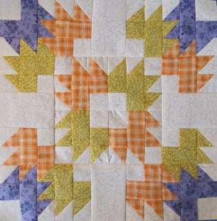 Autumn Quilt Pattern Block by The Quilt Ladies
