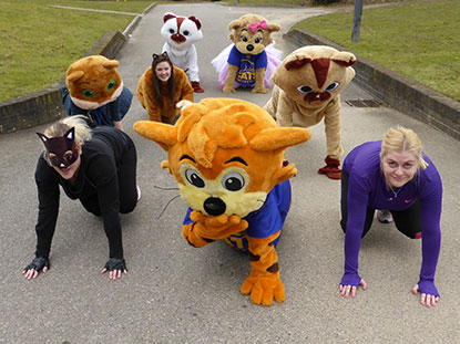 Dress as a cat to take part in our Mog Jog