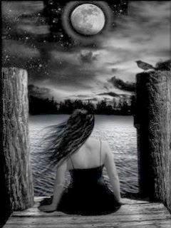 Wallpaper Boy Girl Sad Girl Alone In Dark 240x320 Mobile Wallpaper Mobile