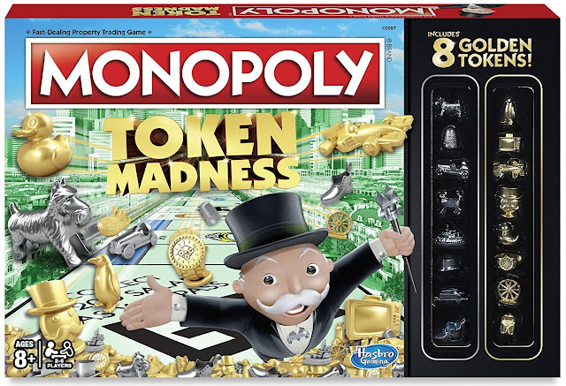 Celebrating World Monopoly Day #19March @Hasbro #MonopolyTokenMadness
