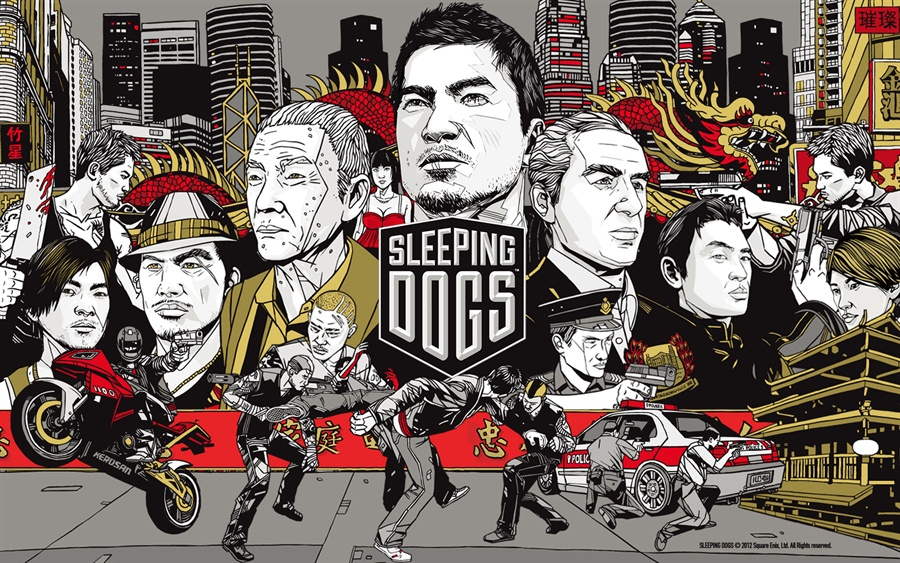 Sleeping Dogs Definitive Edition Download Poster