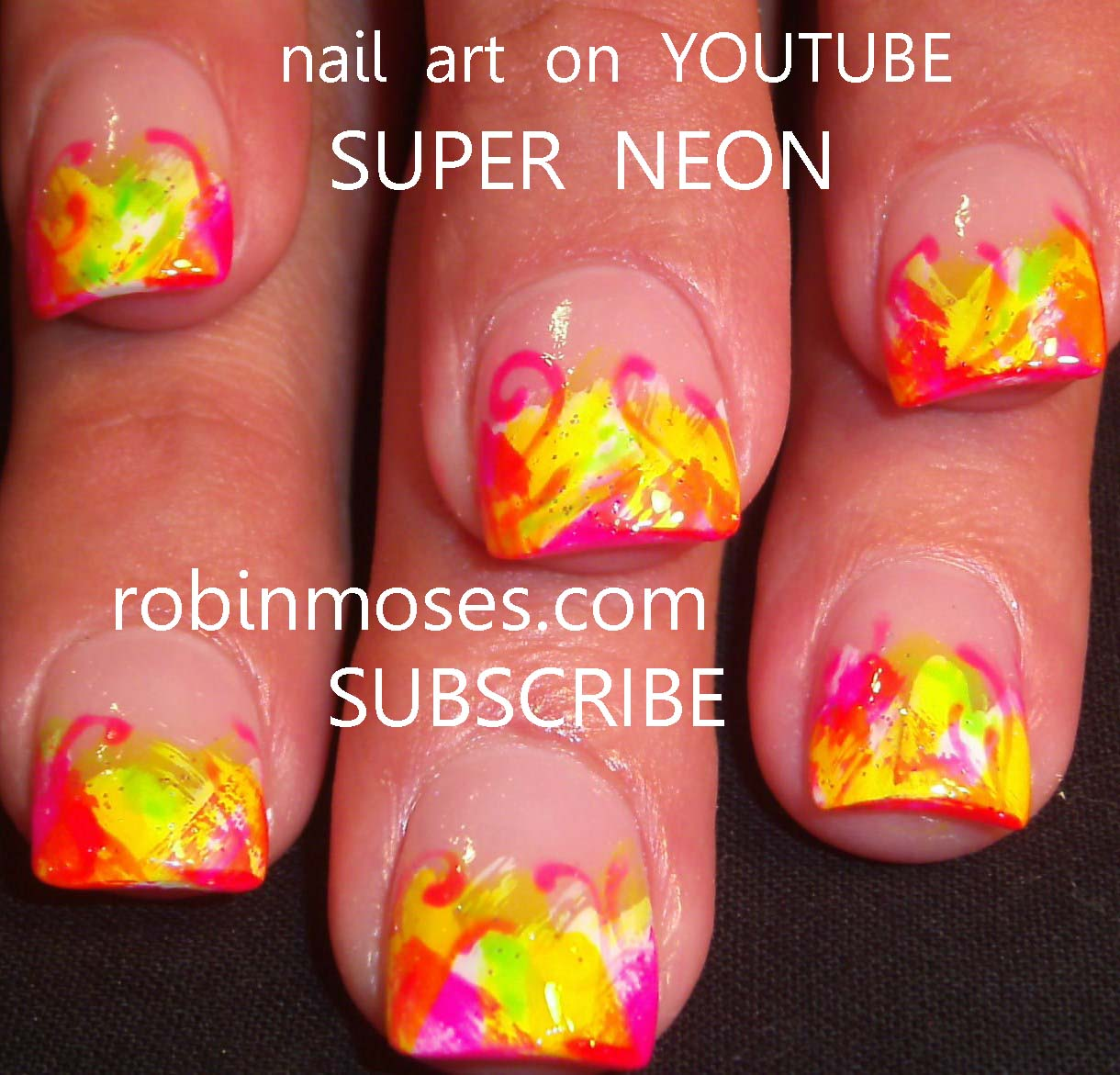 Nail Art By Robin Moses Back To School Nail Crayon Nail Crayola