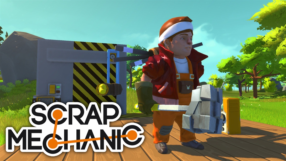 Scrap Mechanic Download Poster