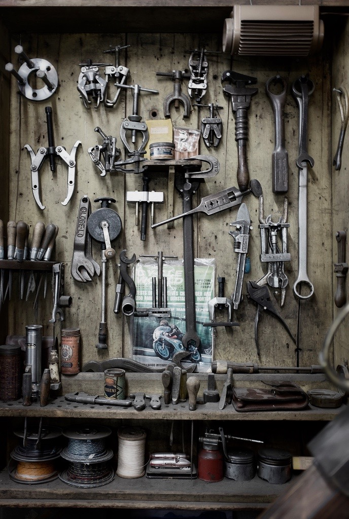 Just a car guy nice garage wall of tools for Auto decoration shops in rawalpindi