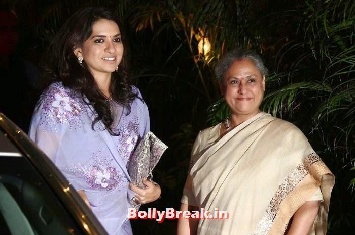 Shaina N C, Jaya Bachchan, Photos from Amitabh Bachchan's Diwali Bash 2014
