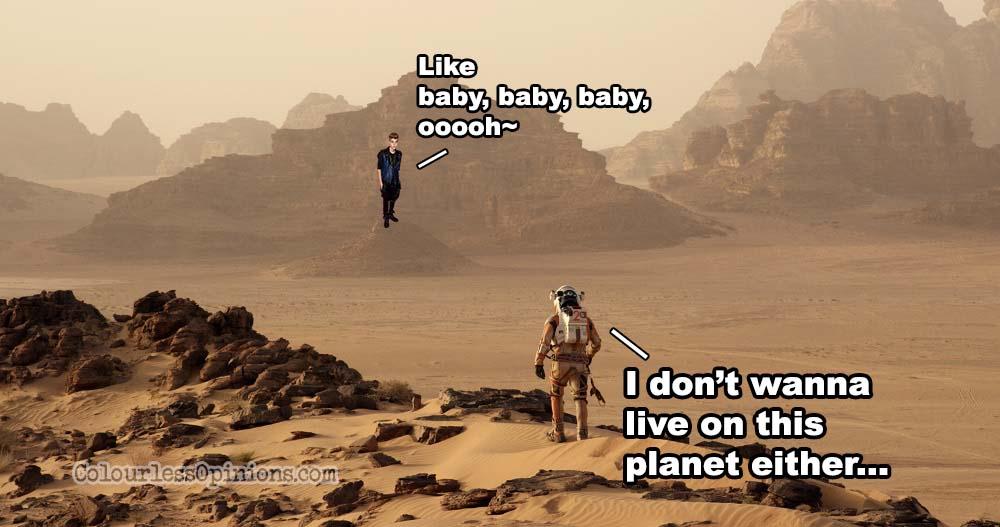 Movie Review The Martian 2015 Matt Damon Jessica Chastain