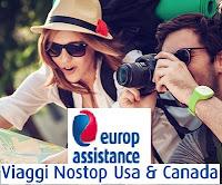 Polizza Viaggi Nostop Usa & Canada di Europ Assistance